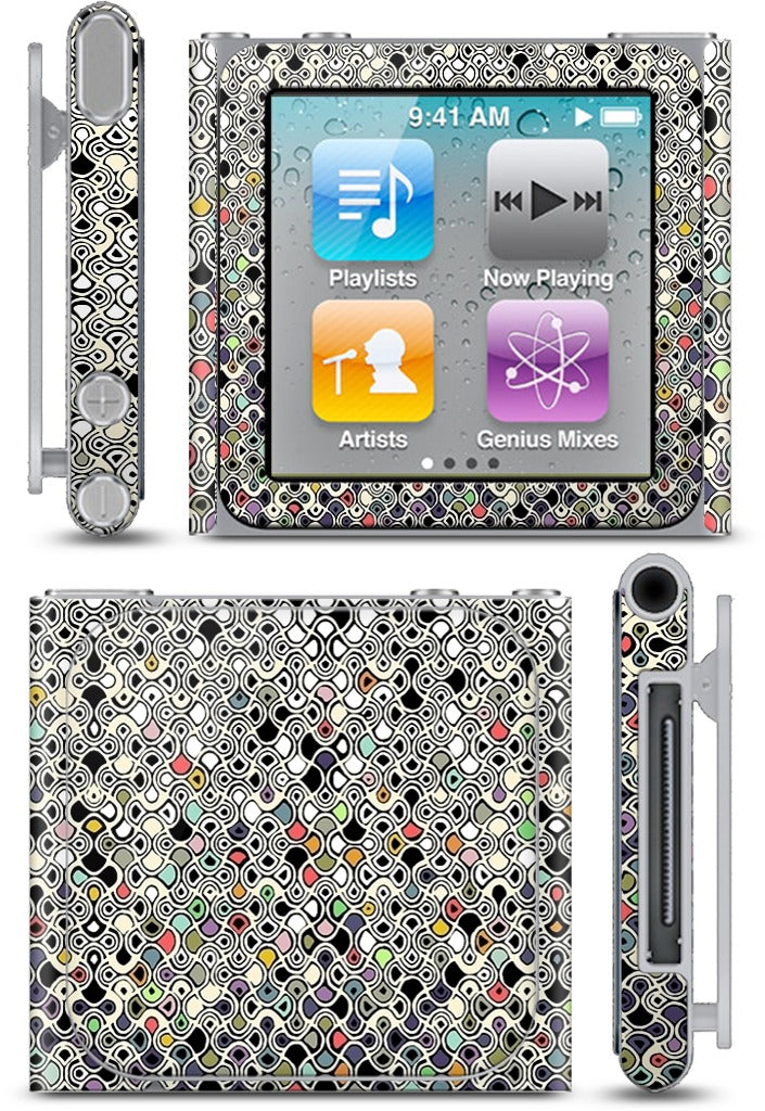 cellular ombre iPod Skin