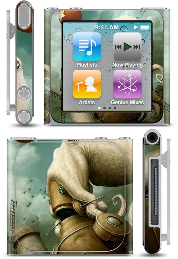 Rise of the Red Star iPod Skin