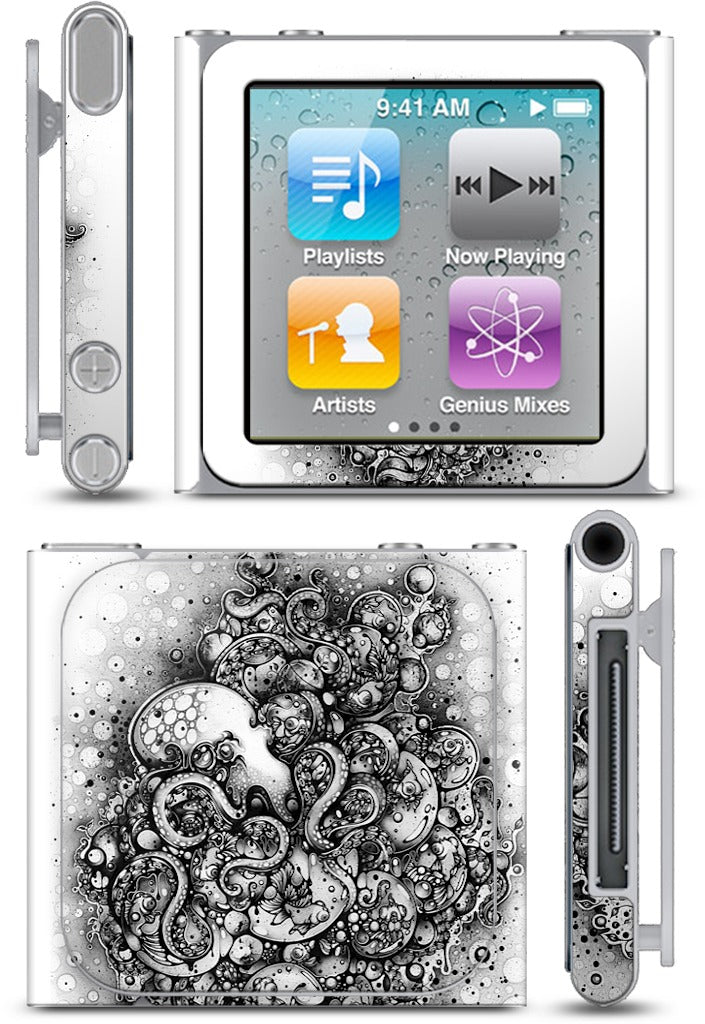 A Curious Embrace iPod Skin
