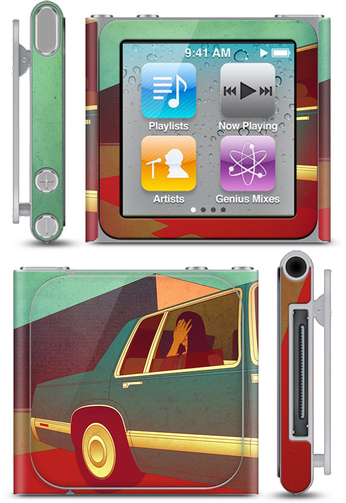 Trace of Recognition iPod Skin