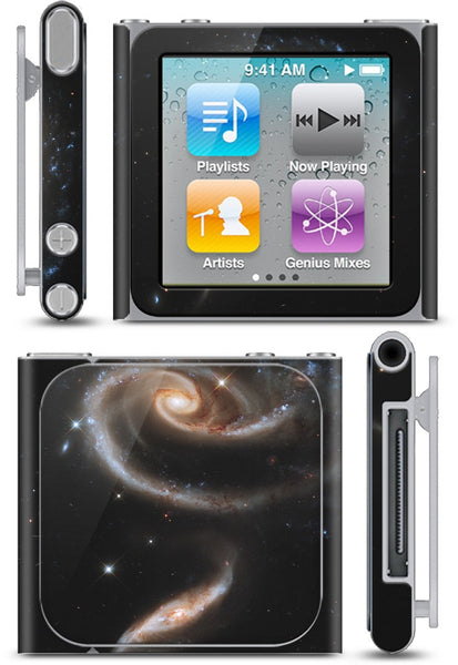 A Rose Of Galaxies iPod Skin