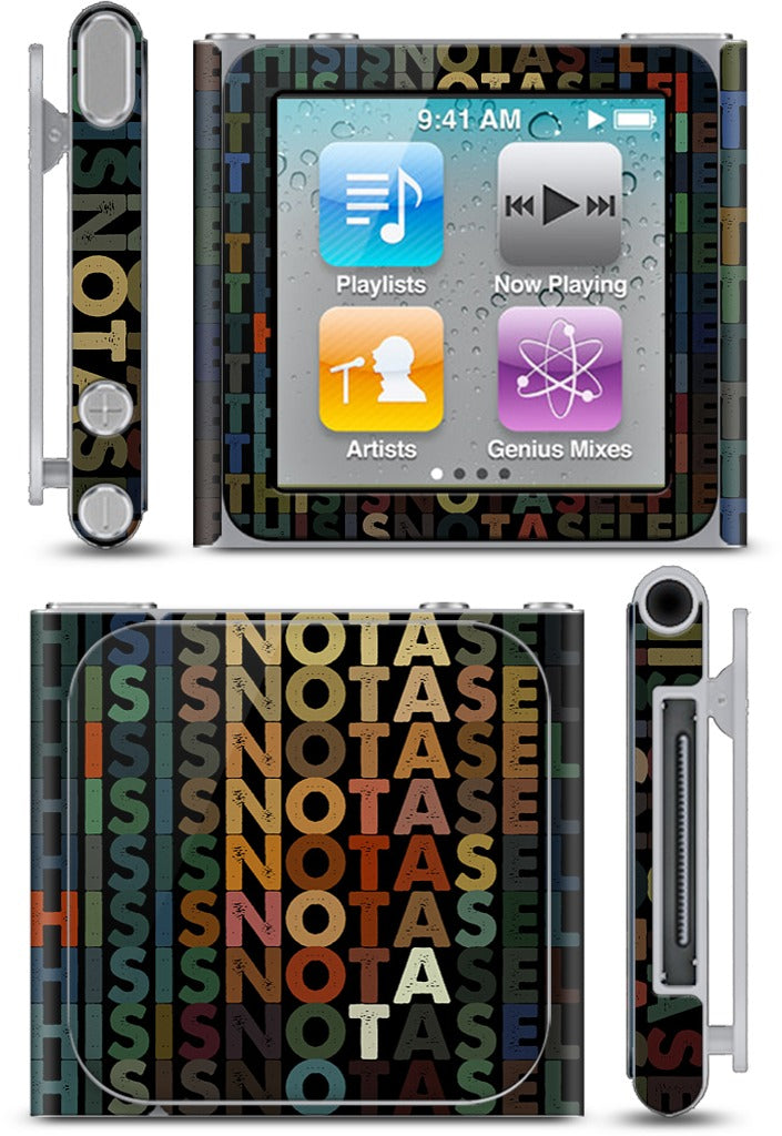 This Is Not A Selfie iPod Skin