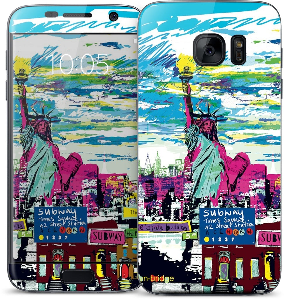 New York Skyline Samsung Skin