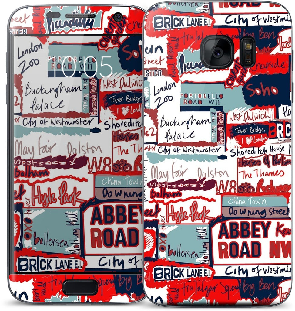London Words Samsung Skin