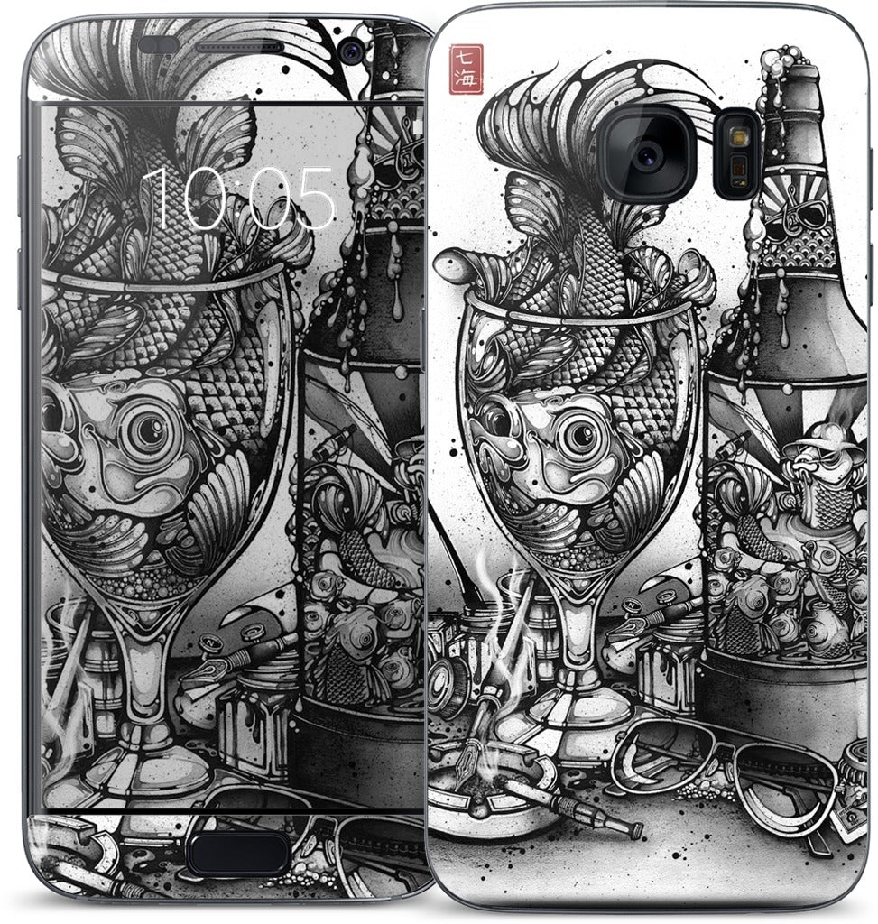 Hook, Line and Inker Samsung Skin