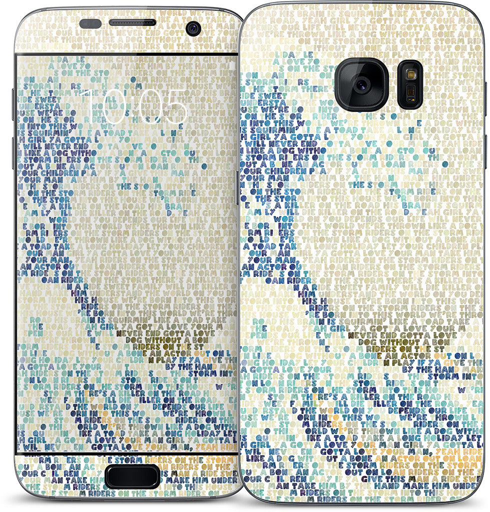 Riders On The Great Wave Samsung Skin