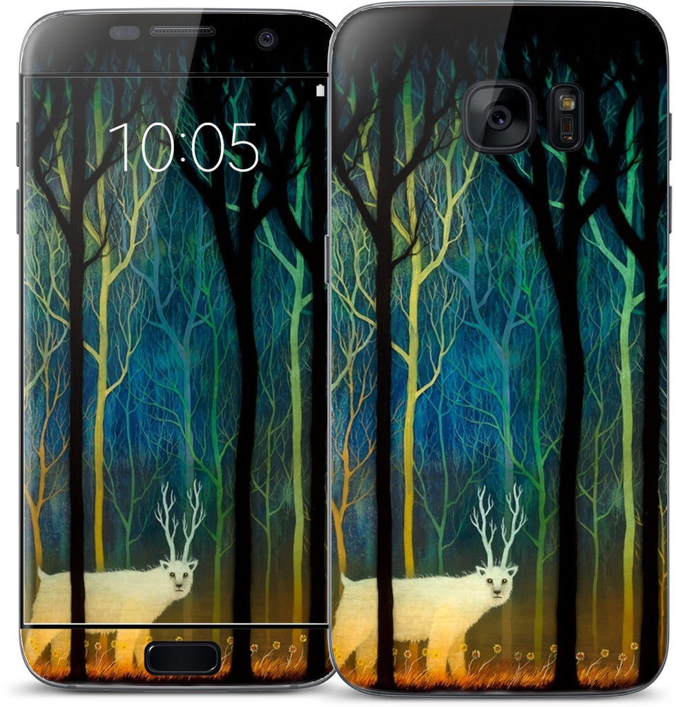 Profound Encounters Amid the Forest Deep Samsung Skin