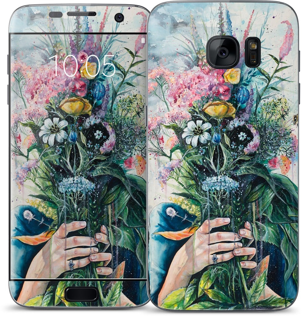 The Last Flowers Samsung Skin