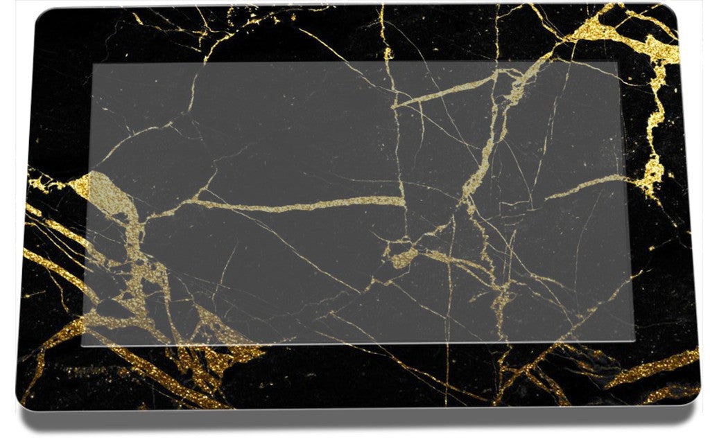 Black and Gold Marble Lennox