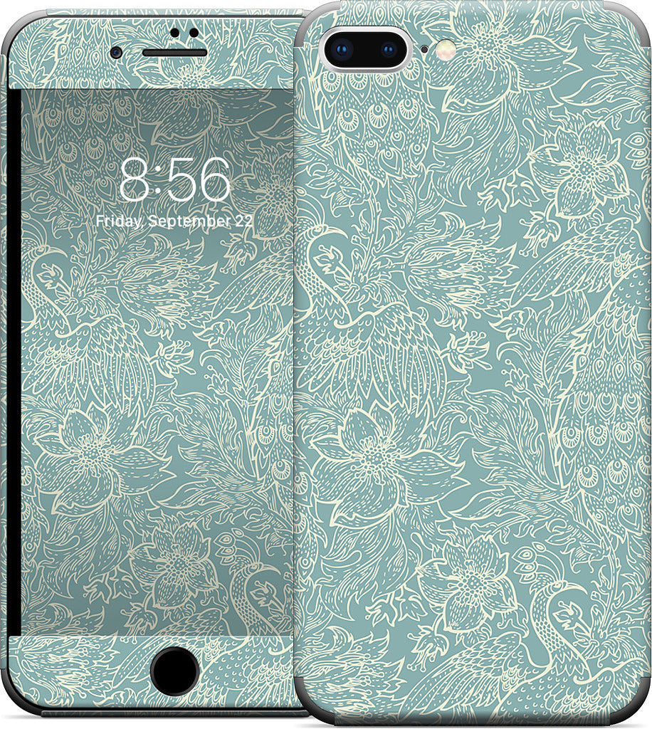 Peacock iPhone Skin