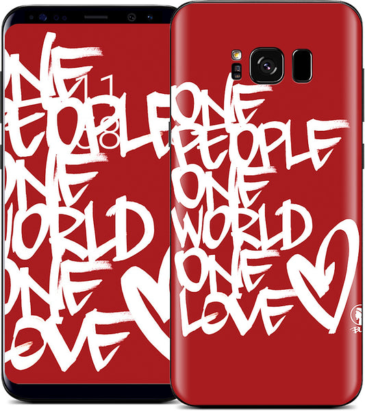 One People, One World, One Love Samsung Skin
