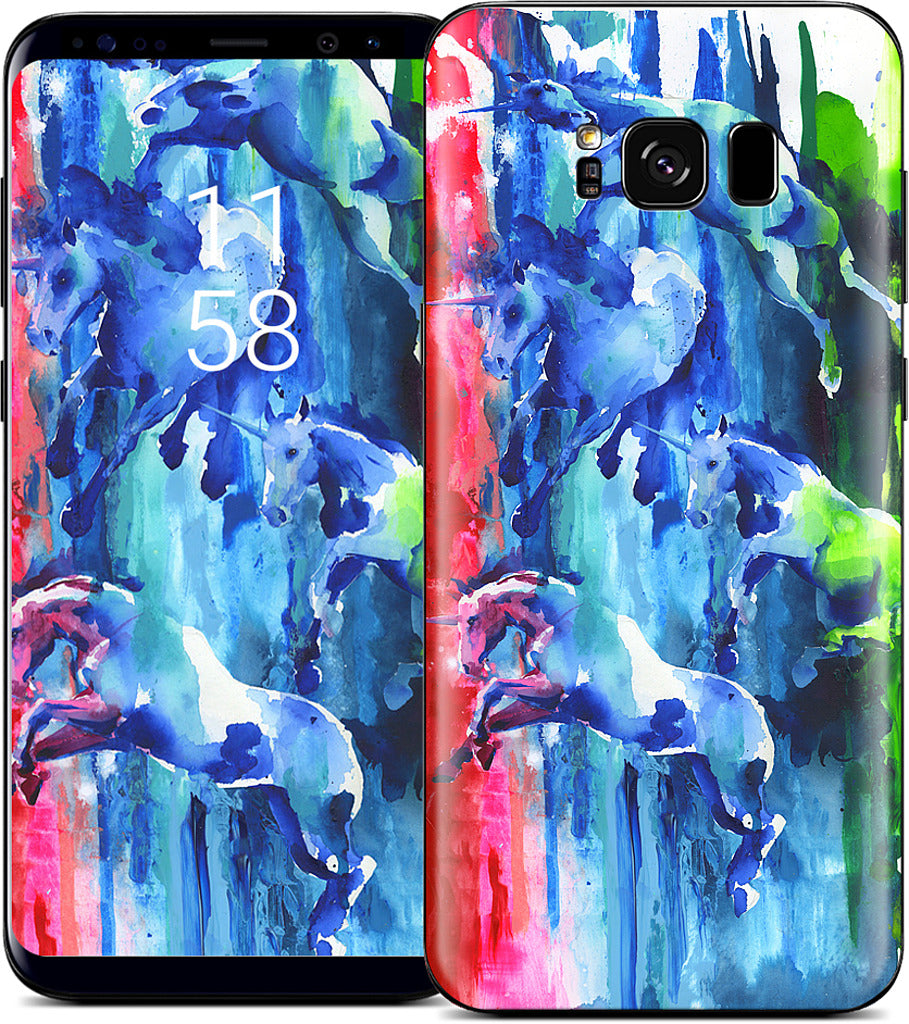 Northern Lights Samsung Skin
