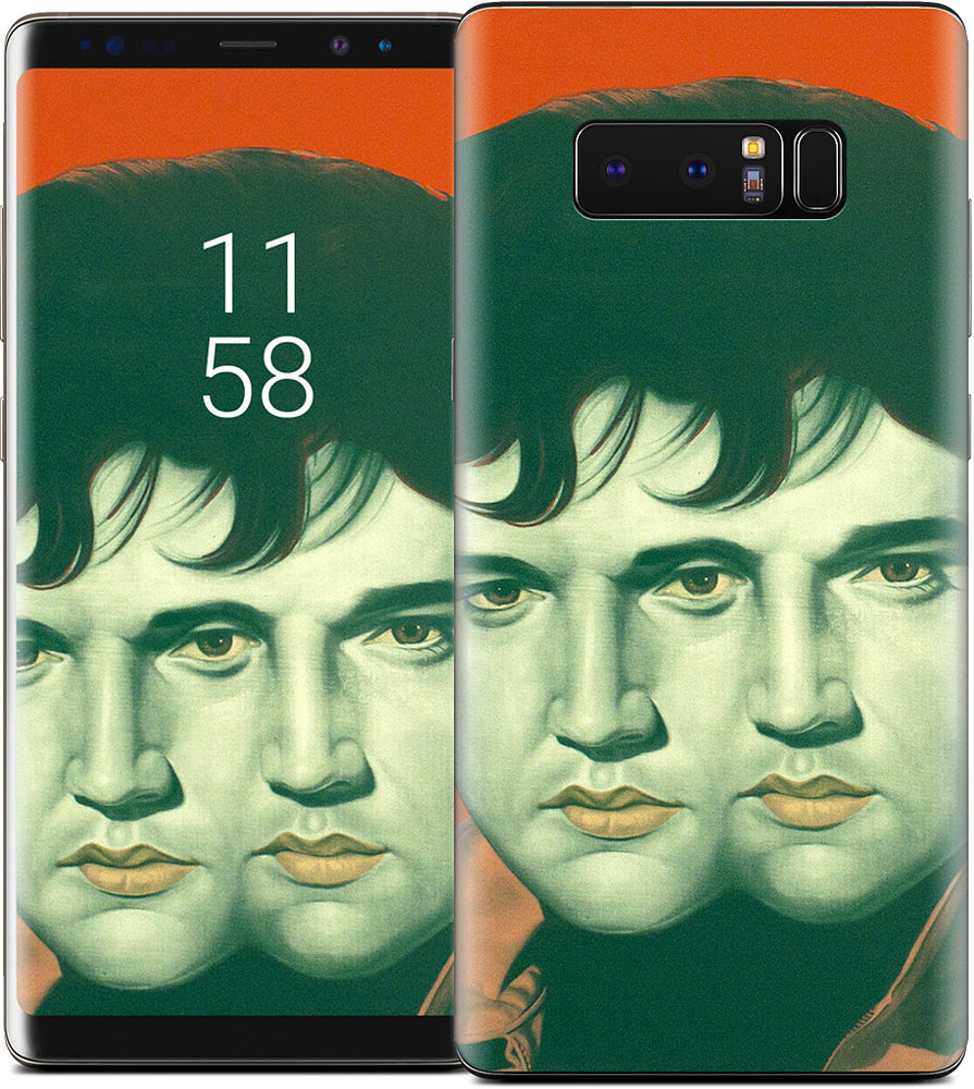 Orange Double Elvis Samsung Skin