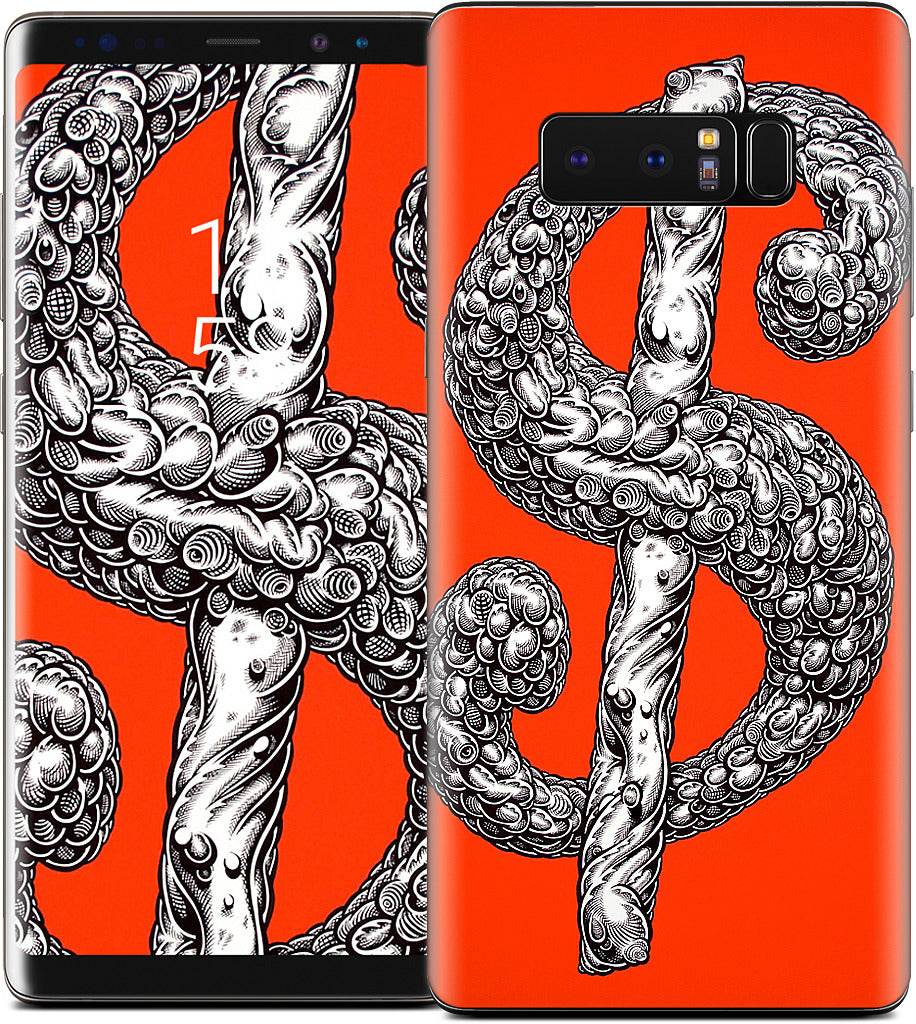 Dollar Sign Red Samsung Skin