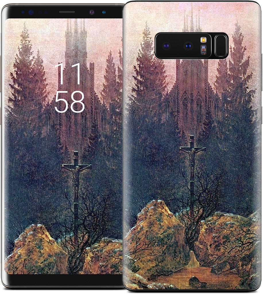 Cross in the Mountains Samsung Skin