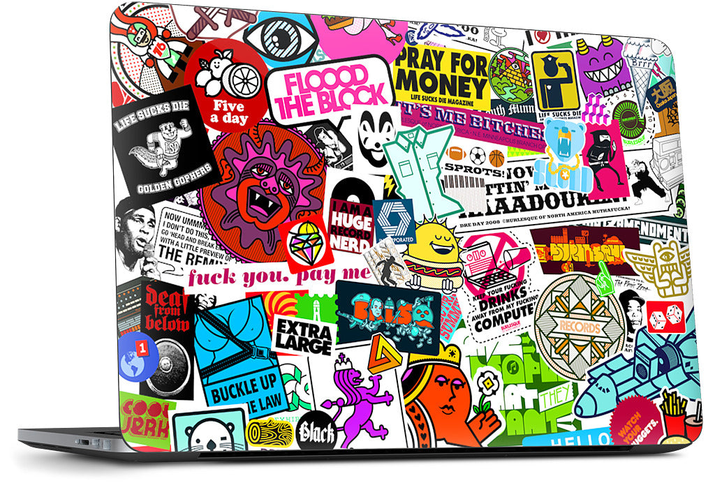 Too Much Everything Dell Laptop Skin