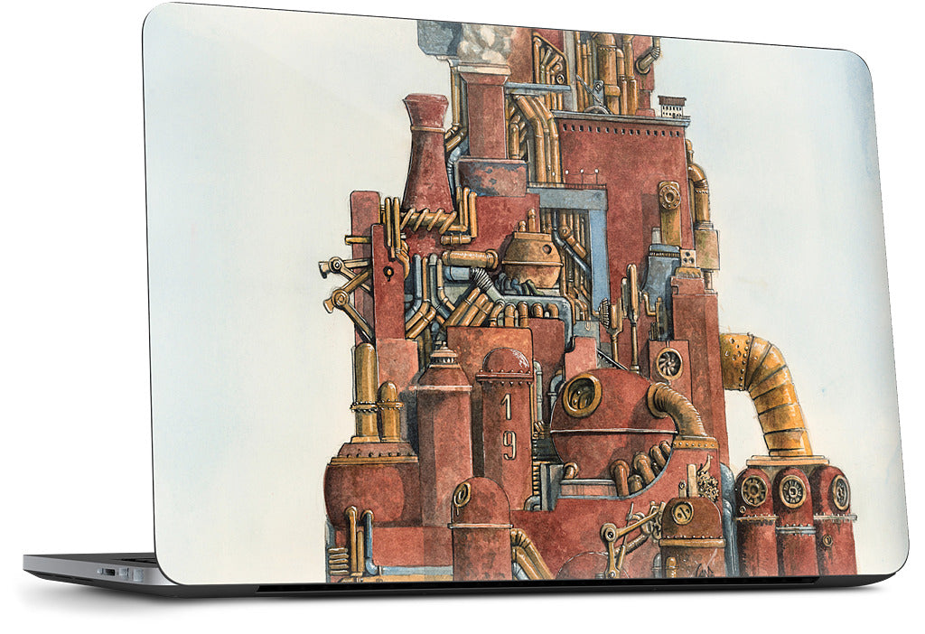 Steam Storm Dell Laptop Skin