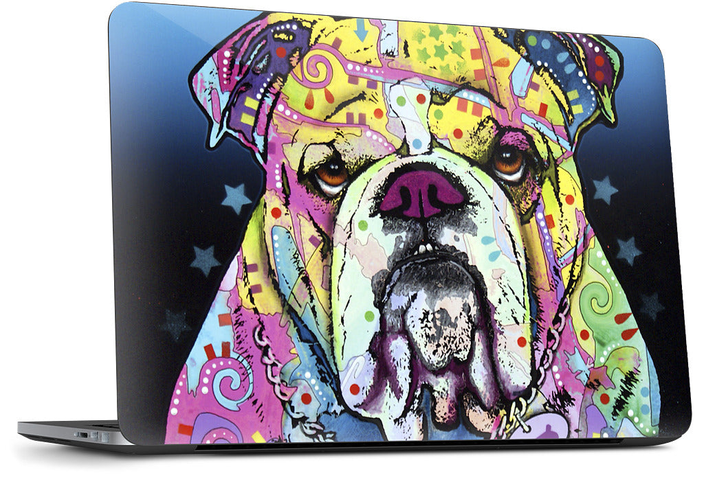 The Bulldog Dell Laptop Skin