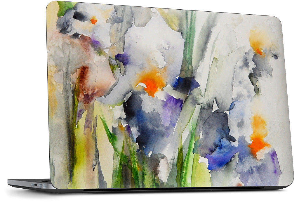 Blue Irises Dell Laptop Skin