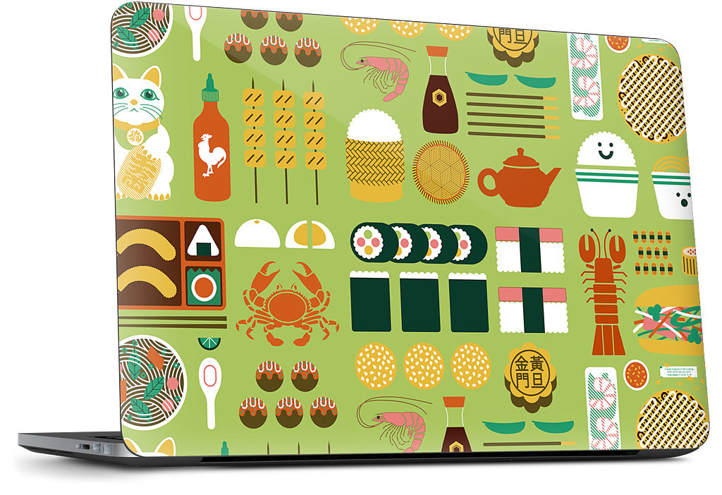 Itadakimasu Dell Laptop Skin