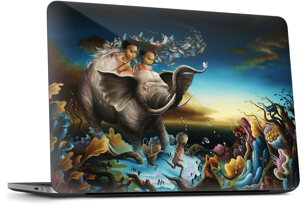 Peace We Bring Dell Laptop Skin