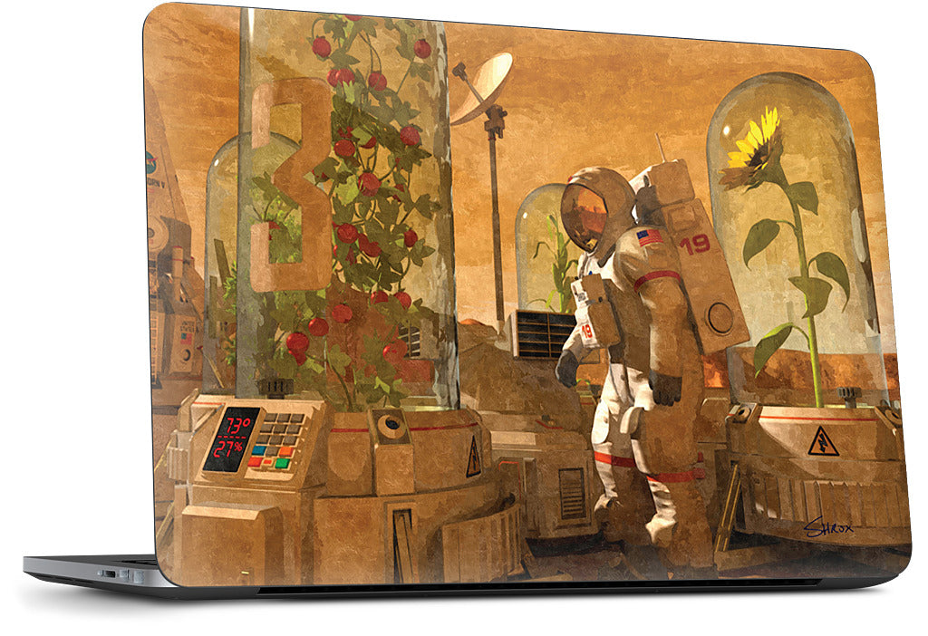 Mars Plant Enclosures Dell Laptop Skin