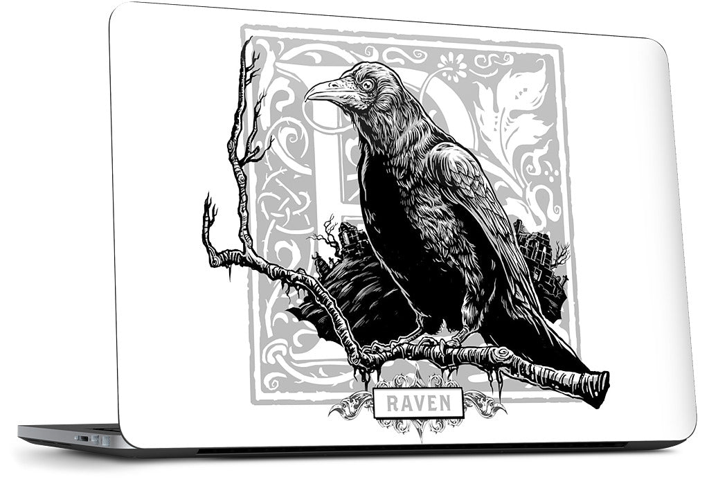 R Is For Raven Dell Laptop Skin