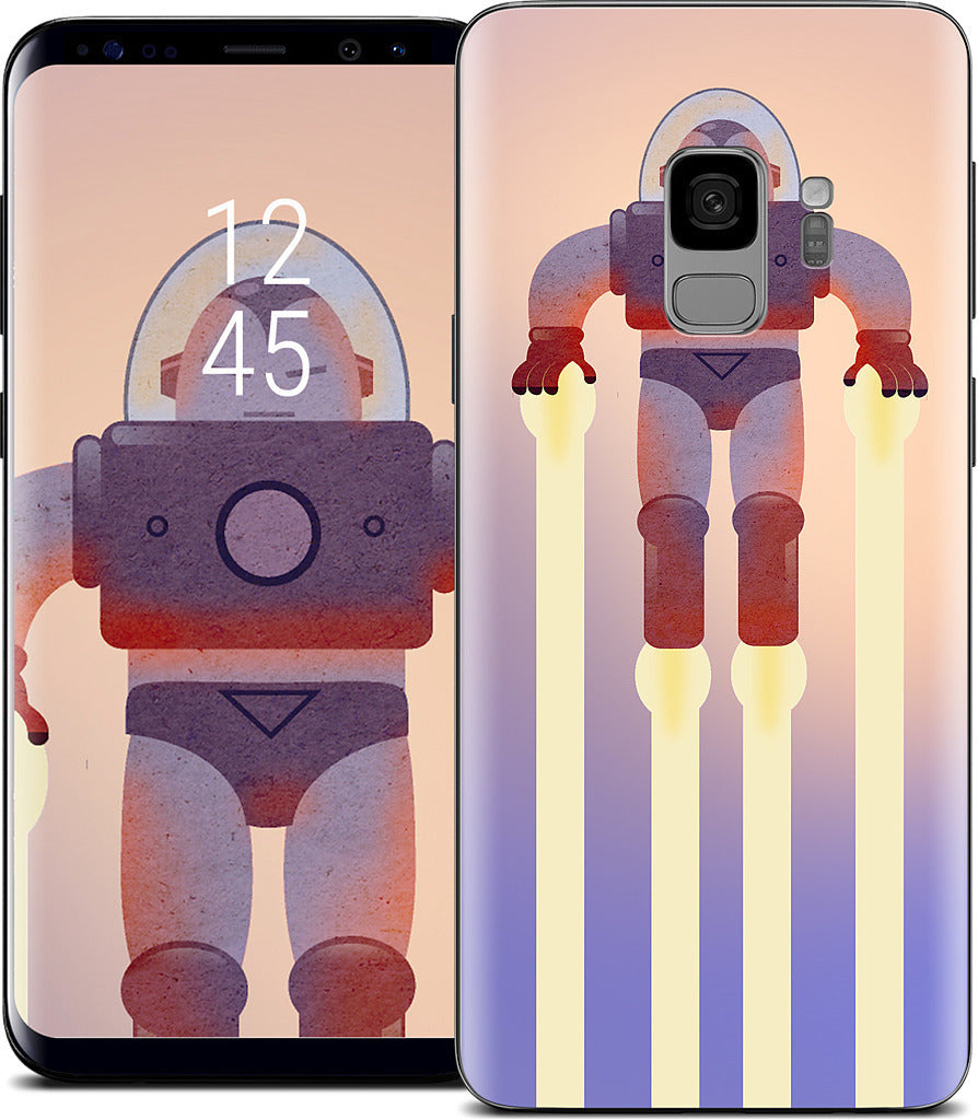 Red Spaceman Samsung Skin