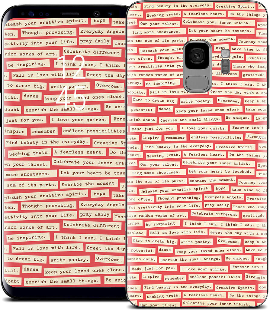 Happy Thoughts Samsung Skin