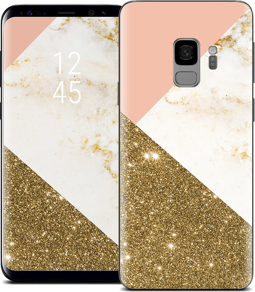 Gold Marble Collage  Samsung Skin