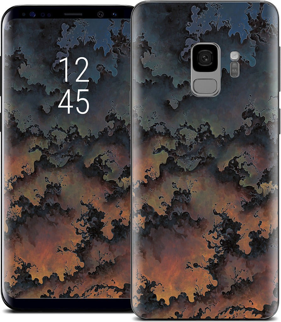 Tossed Inverted Samsung Skin