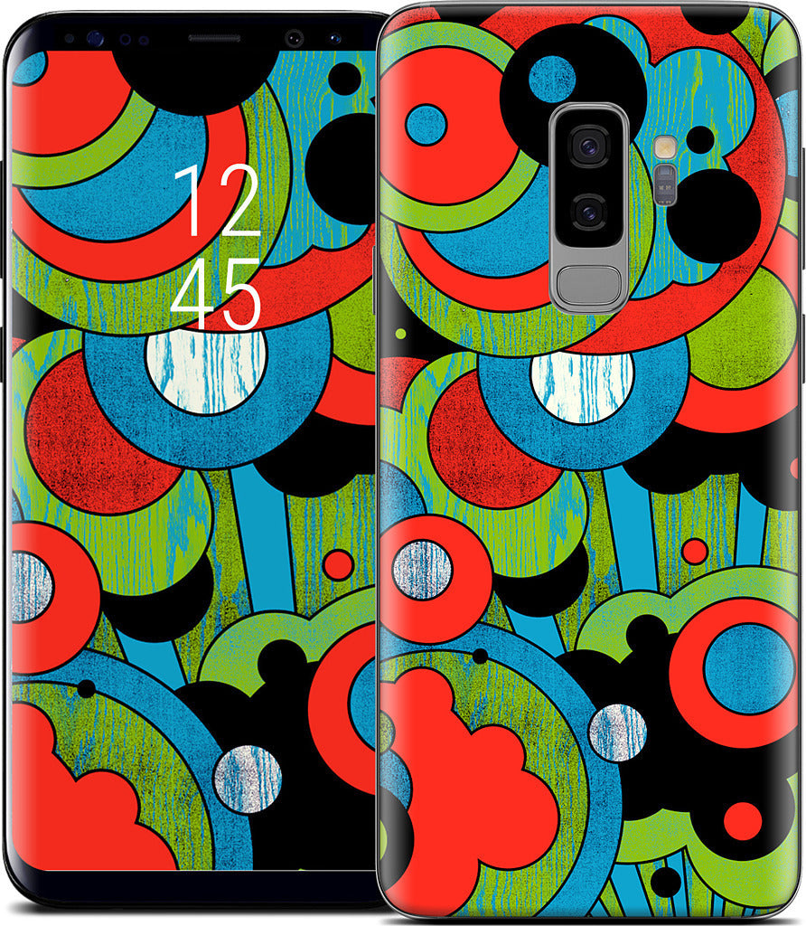 Shapes In Space Samsung Skin