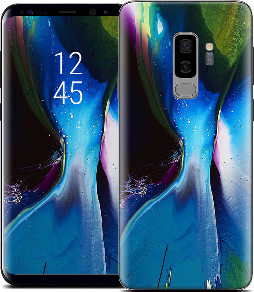 Blue Shift Samsung Skin