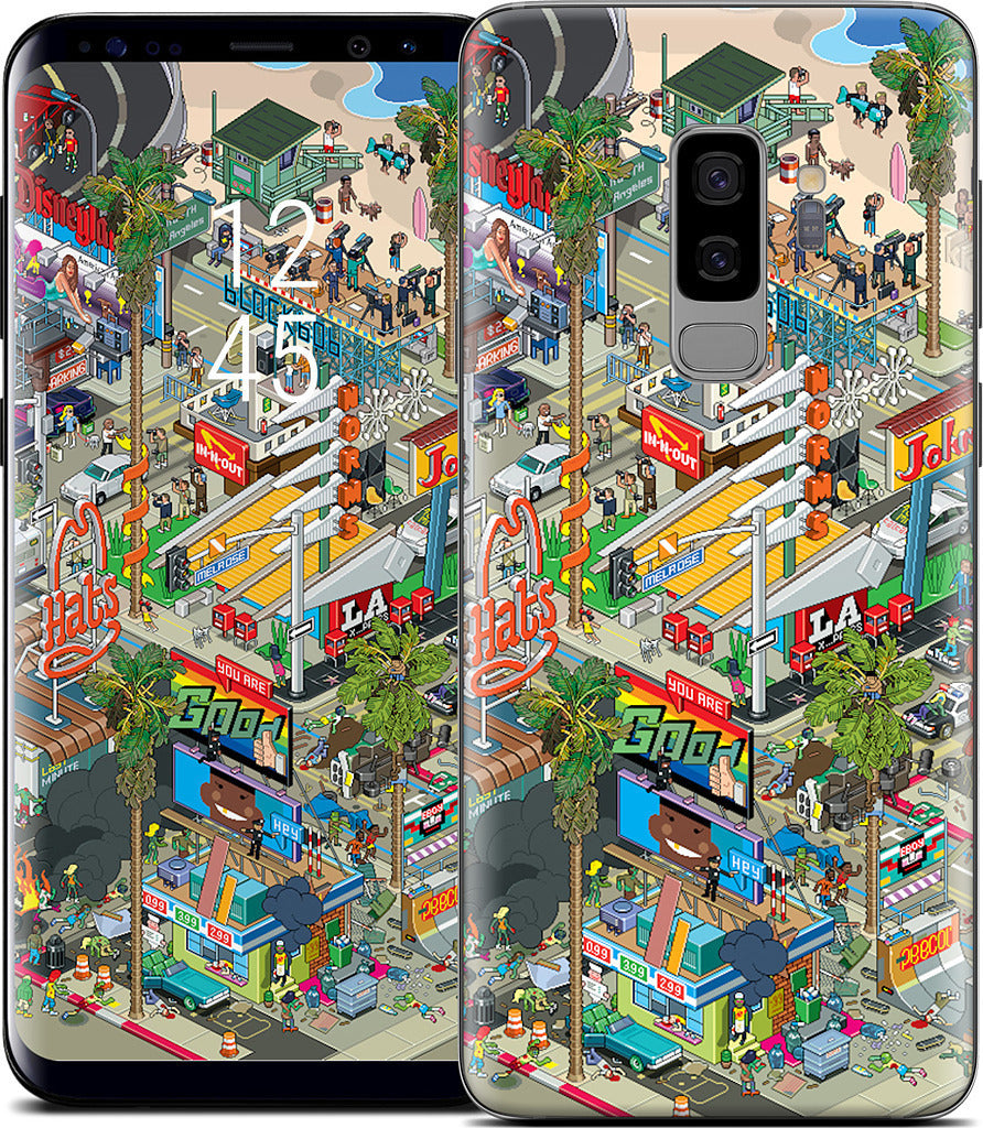 Los Angeles Samsung Skin