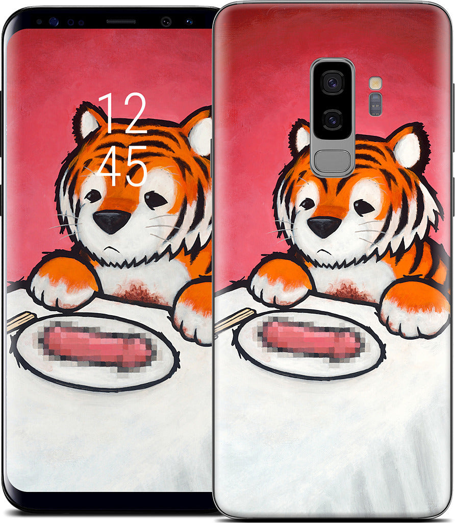 You Are What You Eat Tiger Penis Samsung Skin