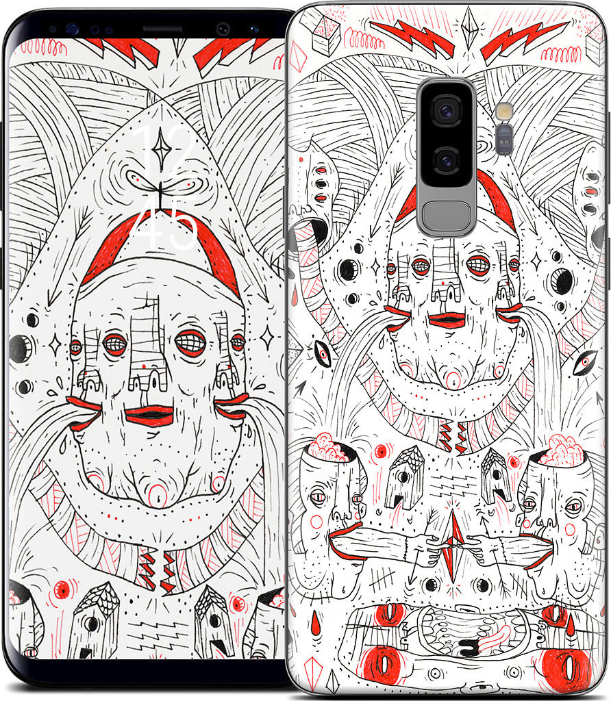 Clown Samsung Skin