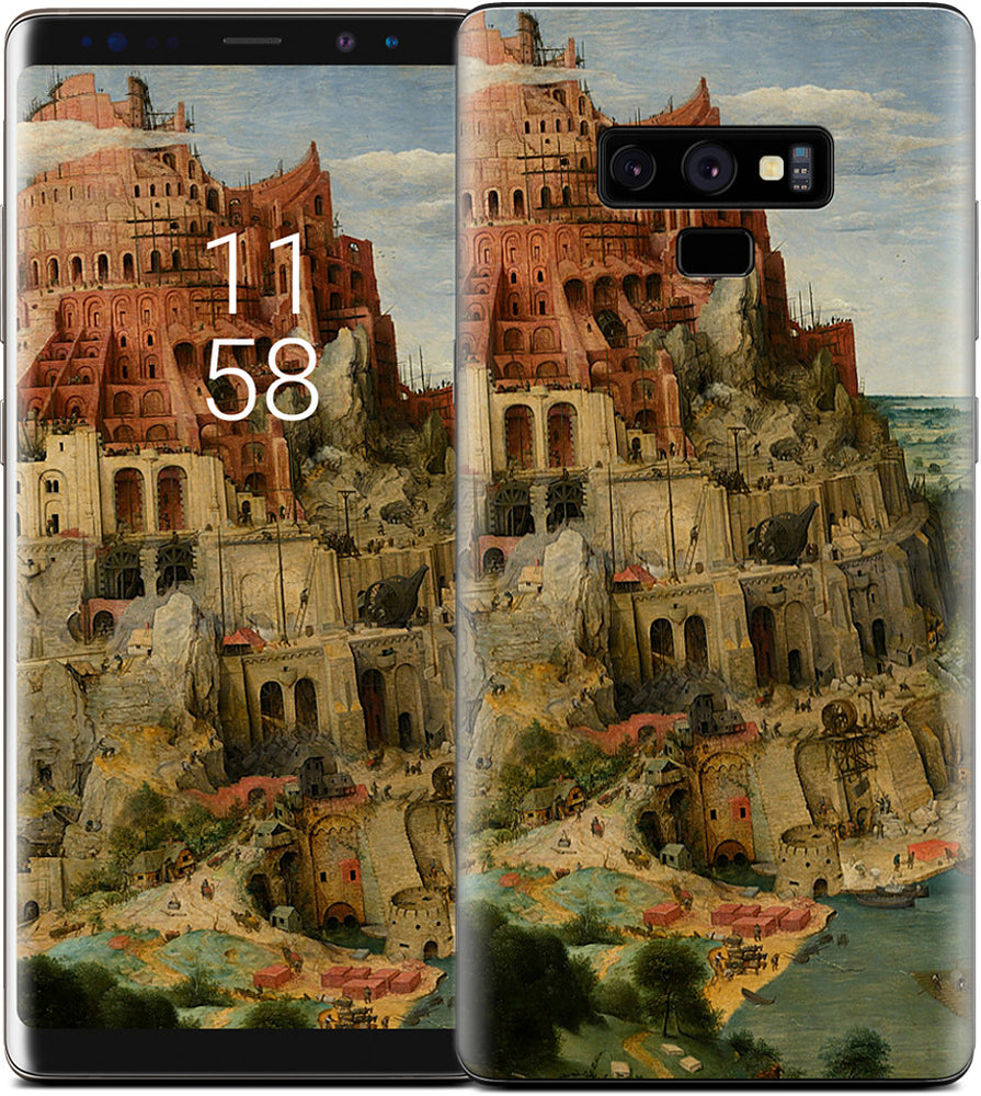 The Tower of Babel Samsung Skin