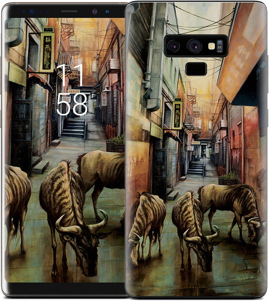 """Street of Three Beasts"" -Levinson Samsung Skin"