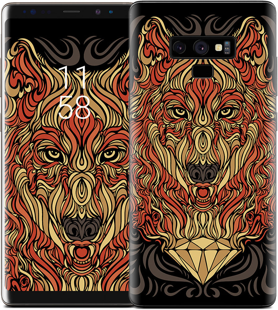 The Lone Wolf Samsung Skin