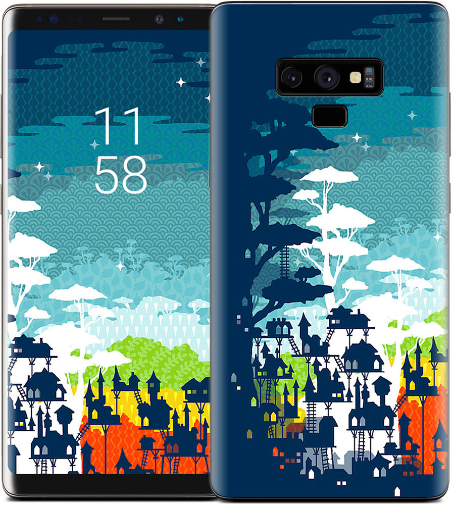 Rainforest City Samsung Skin