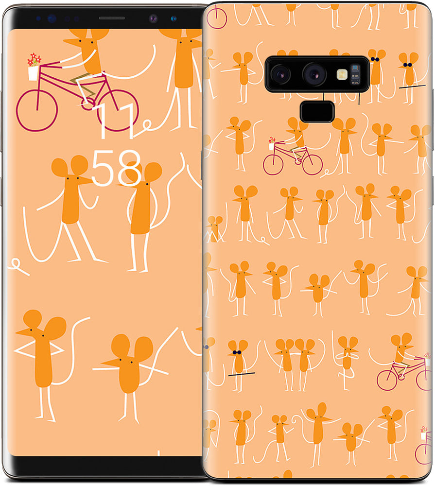 Mice on Bikes Samsung Skin