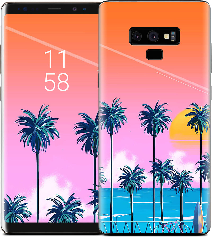 Sunset Lovers Samsung Skin