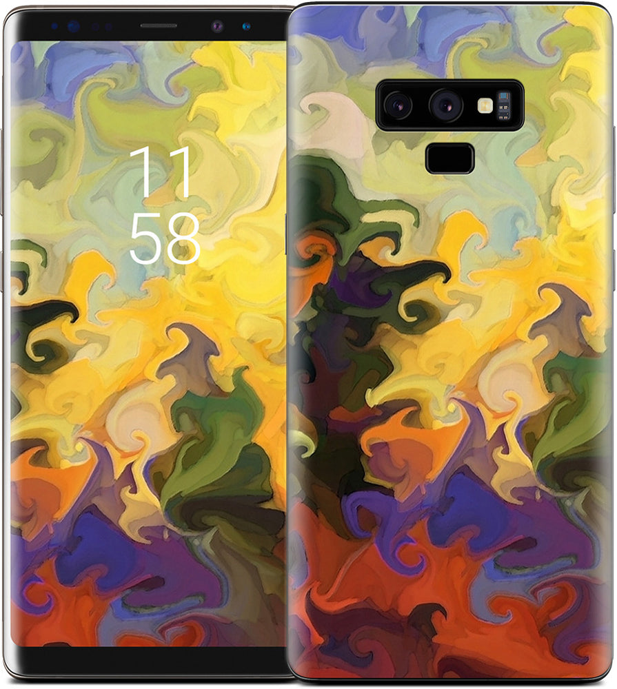 Forest Fire Samsung Skin