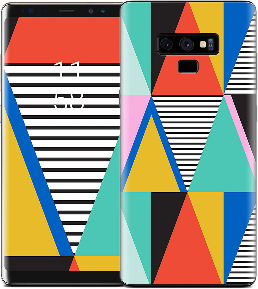 Graphic Triangles Samsung Skin