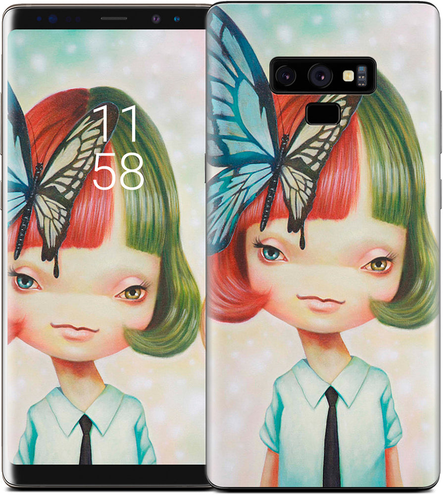 Scissors and Butterfly Samsung Skin