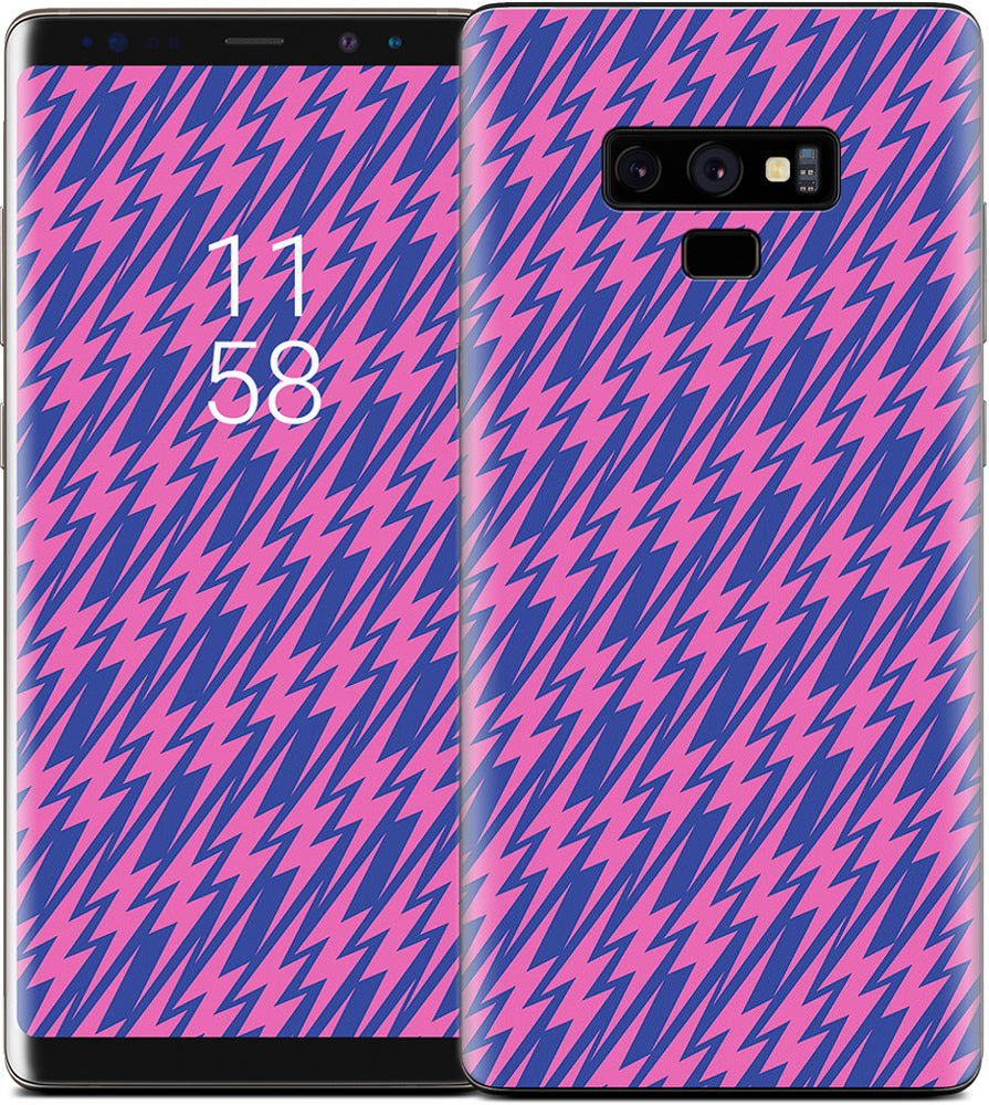 High Voltage Hot Pink Samsung Skin