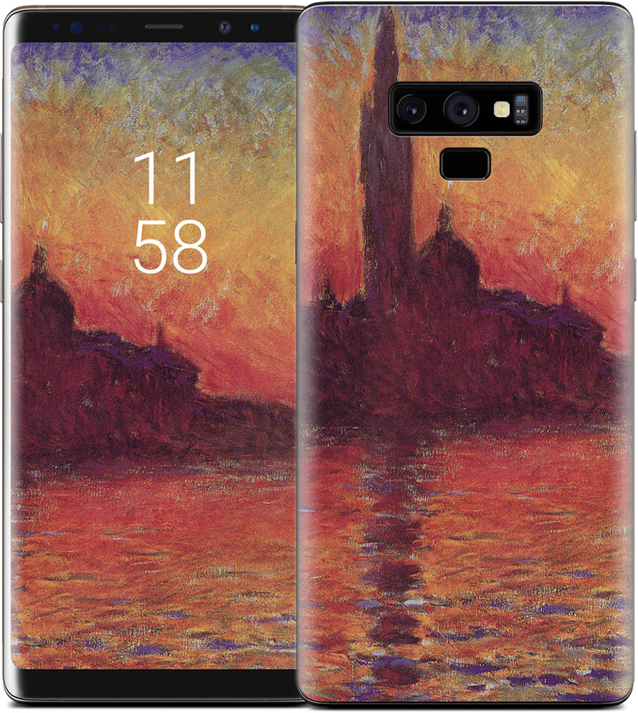 Sunset in Venice Samsung Skin