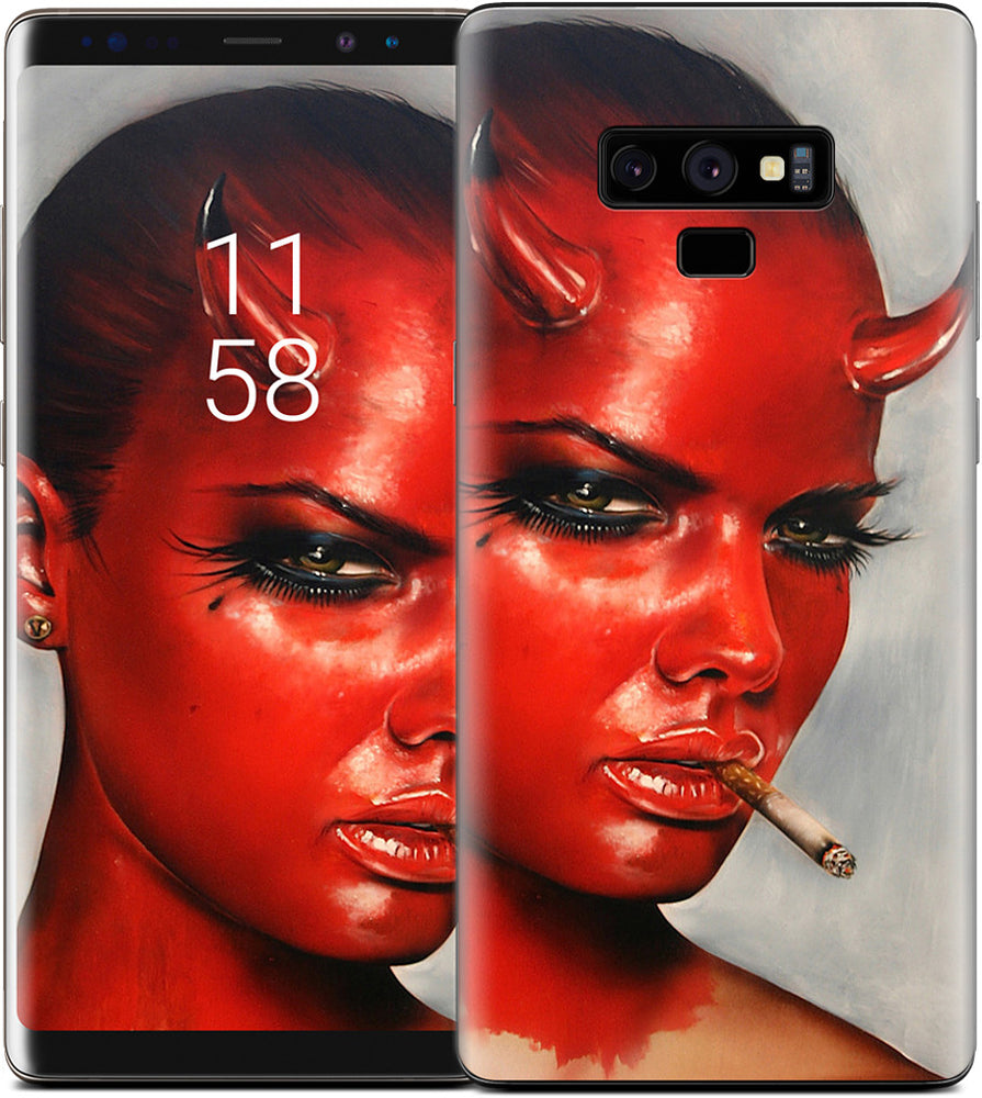 Devil In All Of Us Samsung Skin