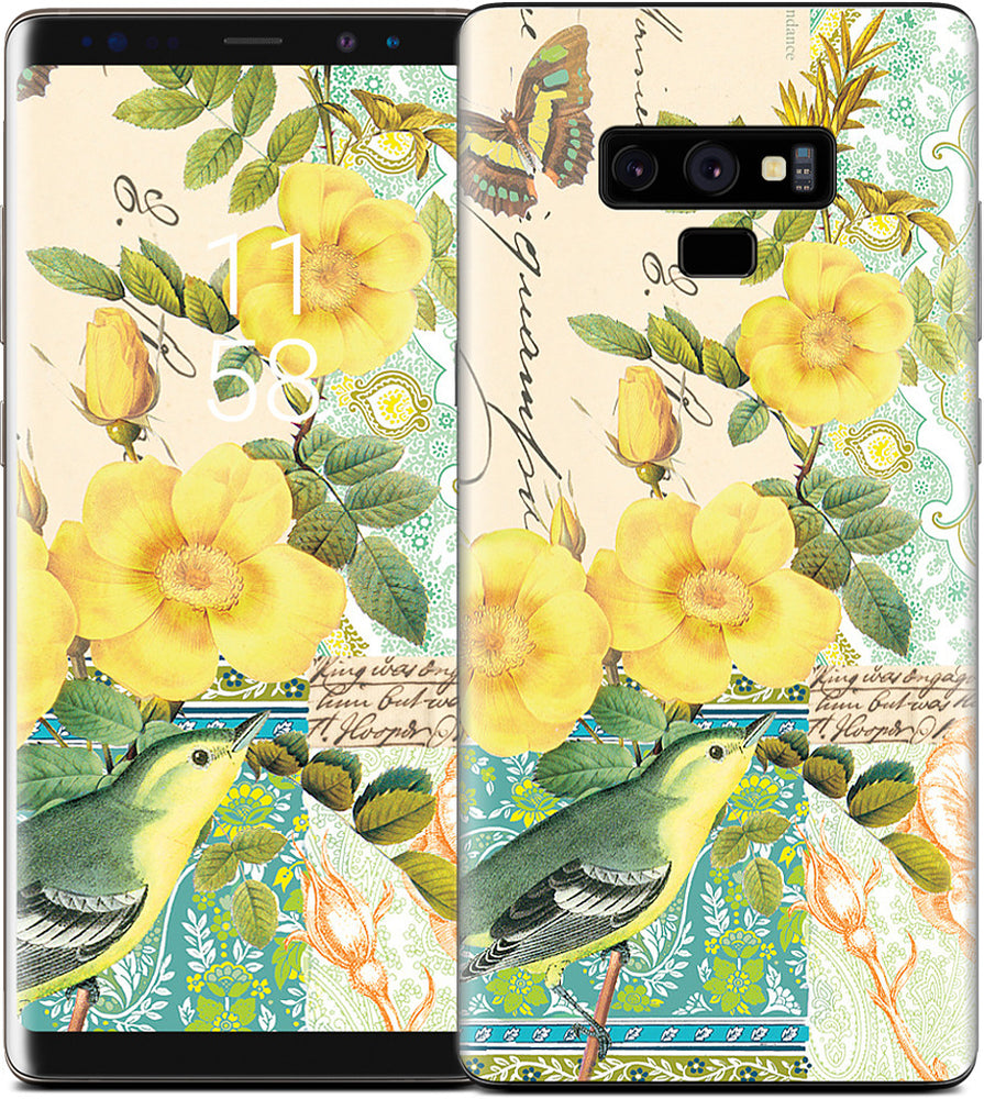 Yellow Bird Samsung Skin