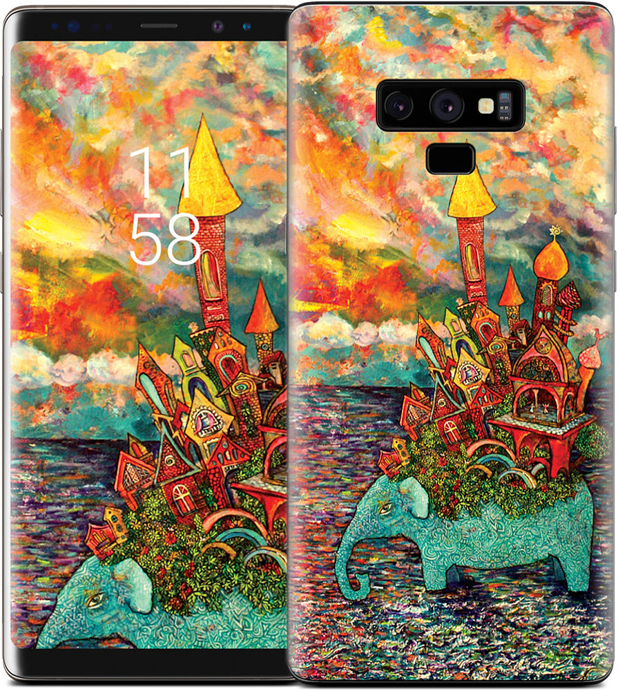 """Warm Waters"" Samsung Skin"